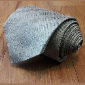 John Varvatos Tie Men's Tan Textured Classic Silk